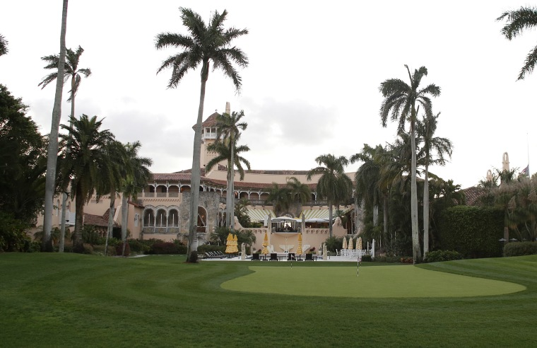 The Mar-A-Lago Club in Palm Beach, Florida, seen here in March 2016, is owned by Republican presidential candidate Donald Trump.