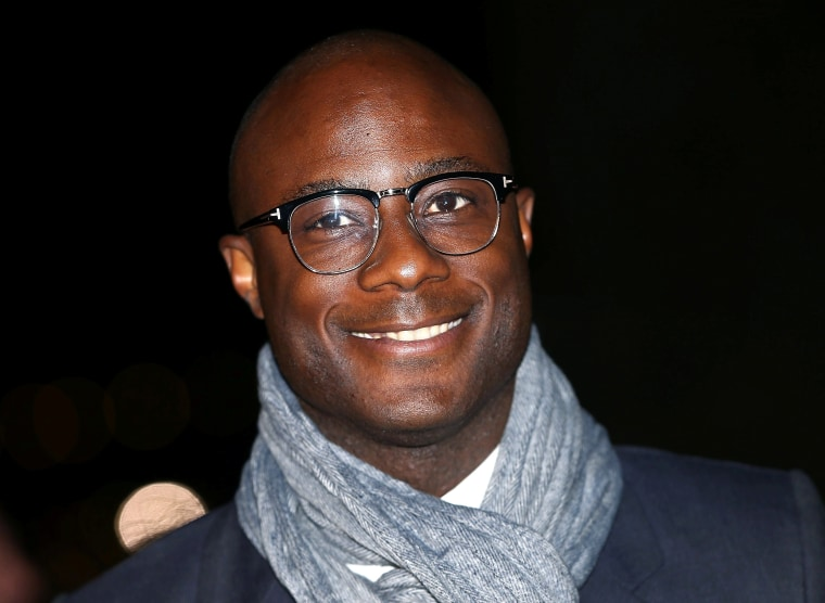 "Image: Director Barry Jenkins poses as he arrives for the gala screening of the film ""Moonlight"", on the second night of the 60th British Film Institute London Film Festival at Embankment Garden Cinema in London"
