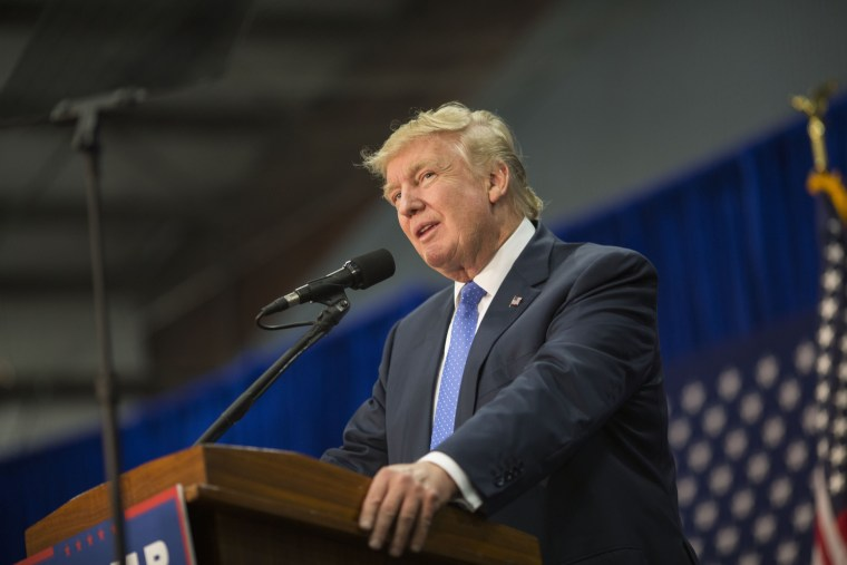 Image: Donald Trump Holds Rally In Wilkes-Barre, PA