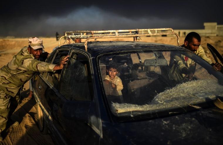 Image: TOPSHOT-IRAQ-CONLICT-MOSUL