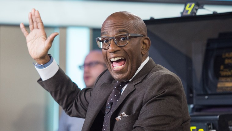 Al Roker's first day back after knee surgery