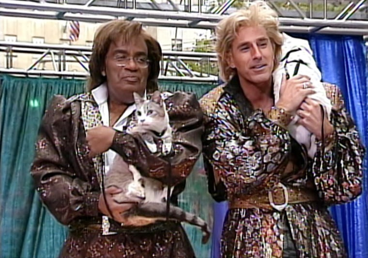 2002: Siegfried and Roy, SpongeBob SquarePants, the Statue of Liberty