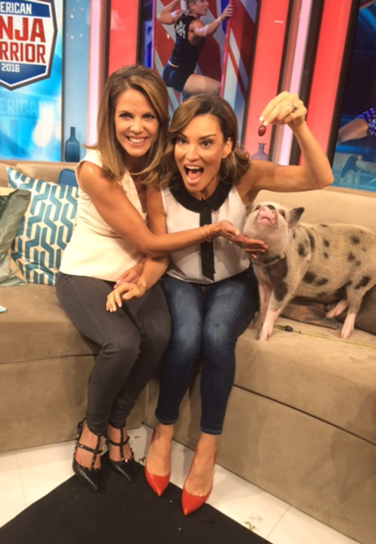 Natalie Morales gives us an inside look at her new morning routine since moving to LA.