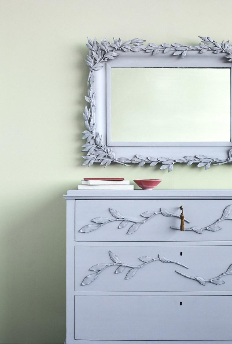 Vine-Wrapped Mirror
