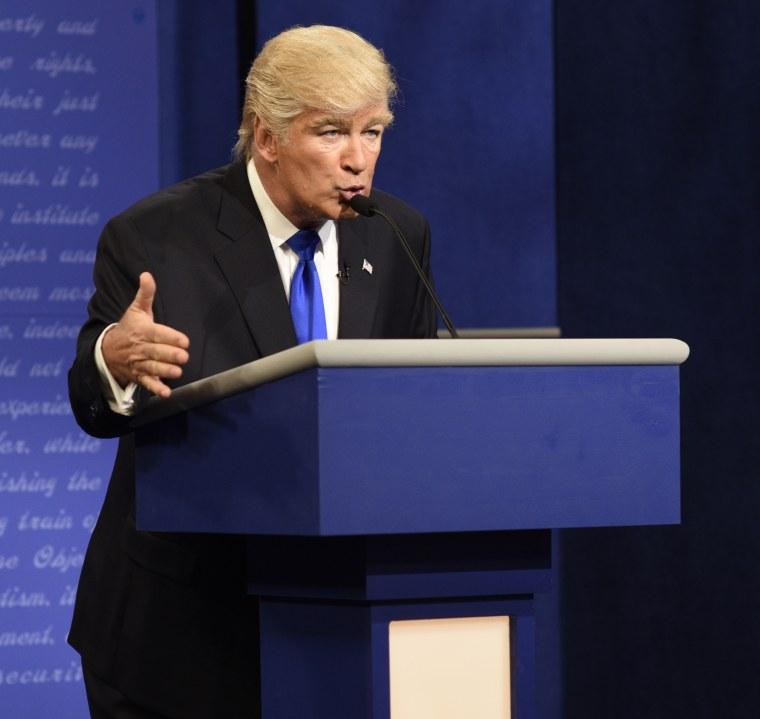 Alec Baldwin as Republican Presidential Candidate Donald Trump