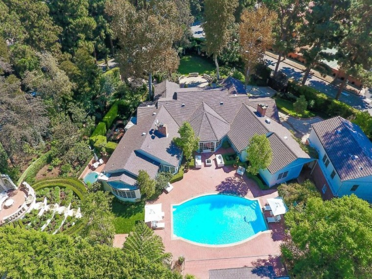 Ozzy and Sharon Osbourne Beverly Hills rental home