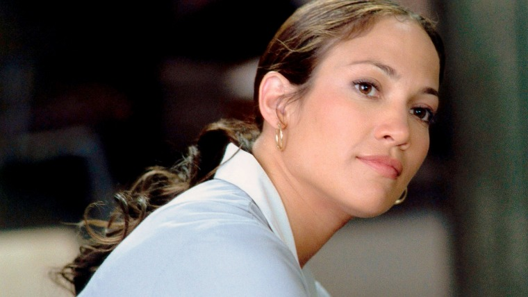 """Jennifer Lopez in 2002's """"Maid in Manhattan."""""""