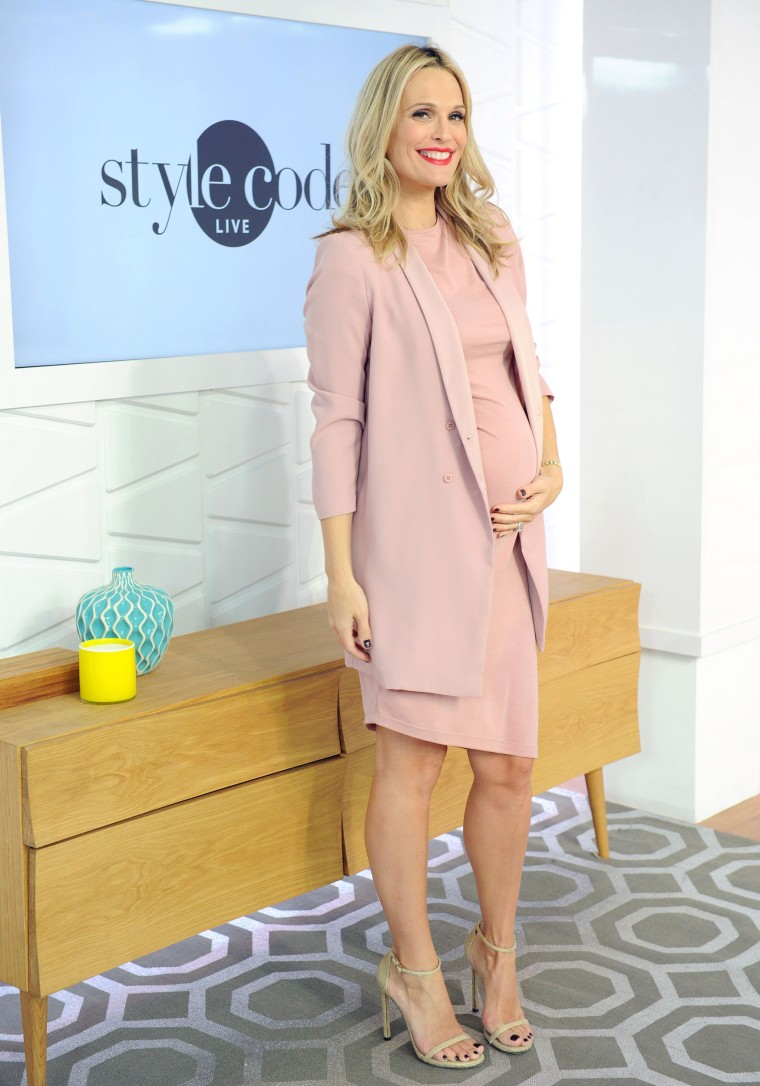 Molly Sims opens up about her third pregnancy: 'It's really hard'
