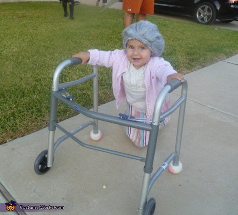 Baby senior citizen costume