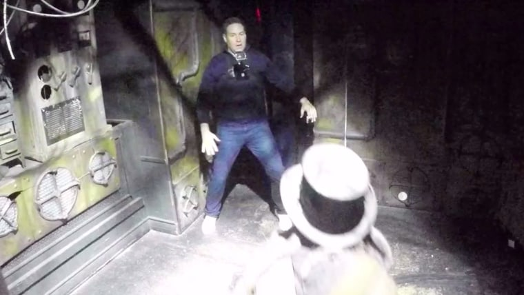 Jeff Rossen in Haunted House