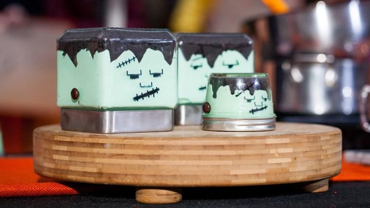 Elise Strachan:6 frighteningly fantastic Halloween dessertsFrankenstein Cheesecakes. TODAY, October 27th 2016.