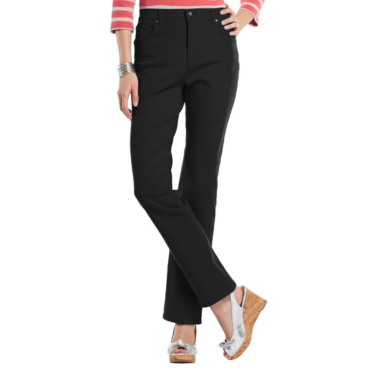 Women's classic tapered jeans