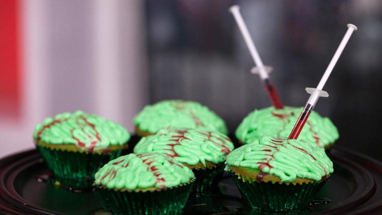 Elise Strachan:6 frighteningly fantastic Halloween dessertsZombie Brain Cupcakes. TODAY, October 27th 2016.