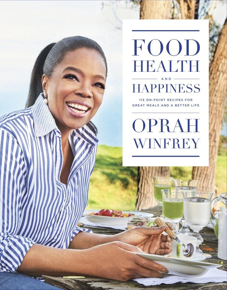 Oprah's first cookbook
