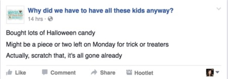 IMAGE: Candy post