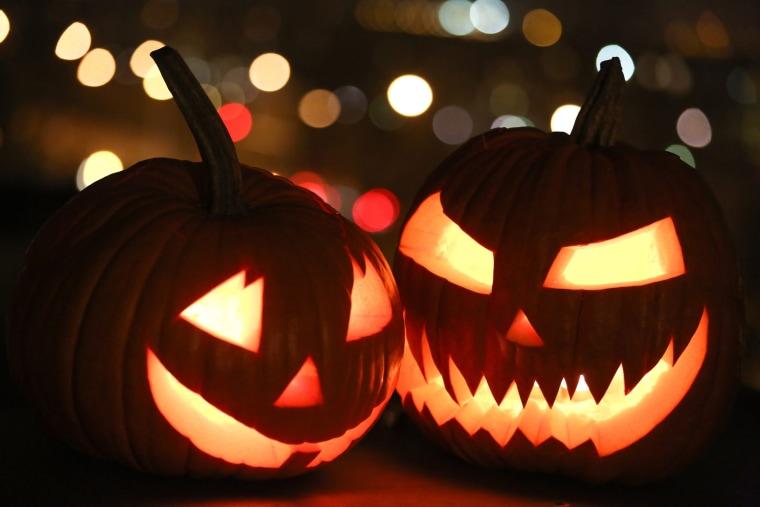Image: Halloween decorations
