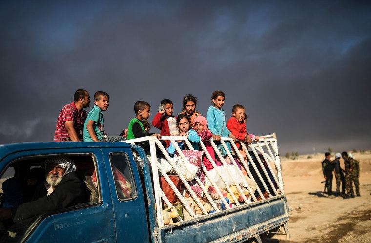 Image: IRAQ-CONLICT-MOSUL