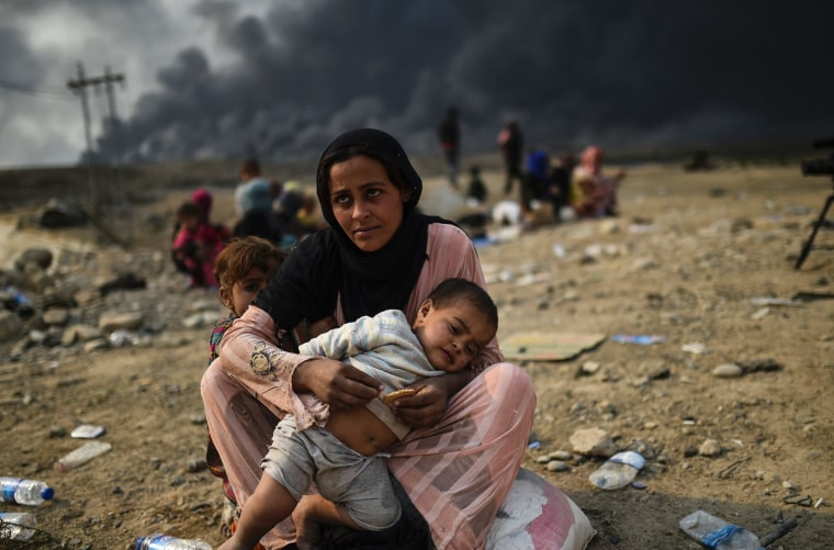 Image: TOPSHOT-IRAQ-CONFLICT-DISPLACED