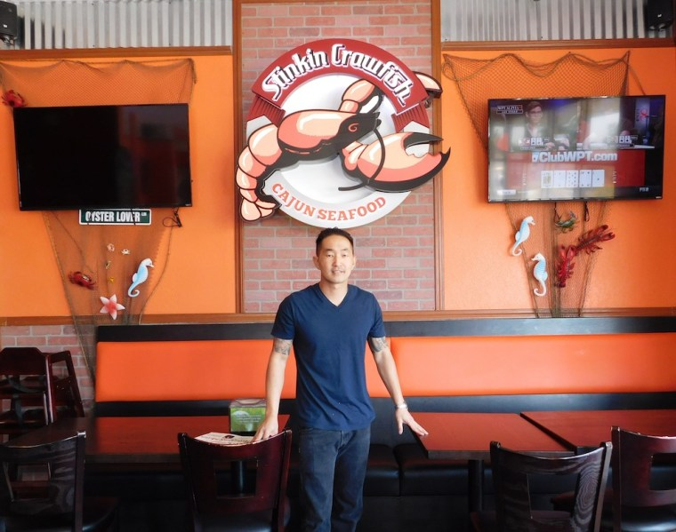 Jay Ly used to be an inmate at San Quentin. Now, his Cajun restaurant, Stinkin Crawfish, is making its mark on the California food scene.