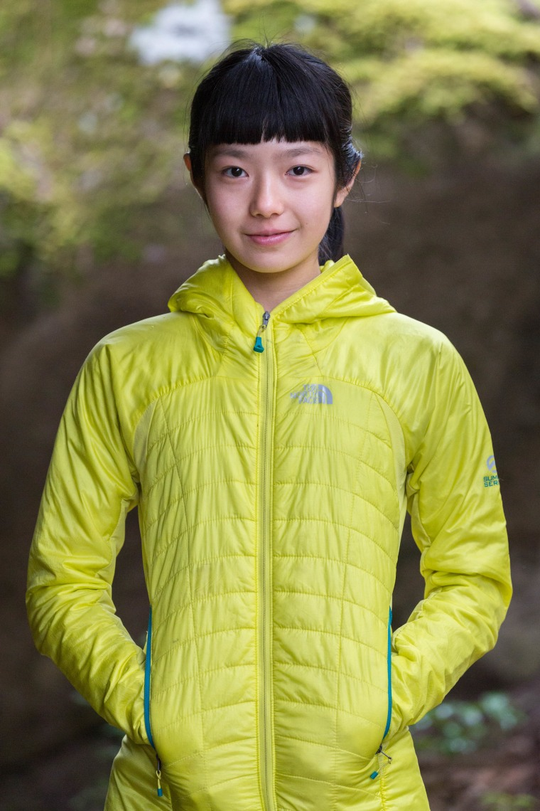 Ashima Shiraishi may be young, but her experience has allowed her to conquer climbs that even senior climbers could not complete.