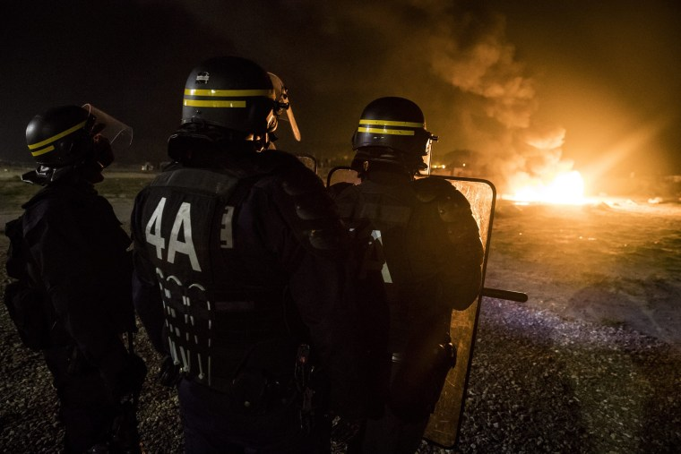 Image: Migrants situation in Calais