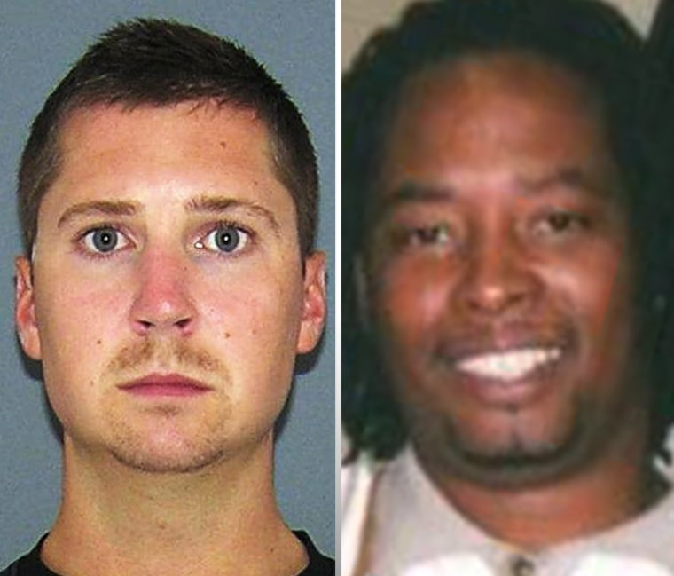 Former University of Cincinnati police Officer Ray Tensing (left) is facing murder charges in the 2015 traffic stop shooting death of driver Samuel DuBose.