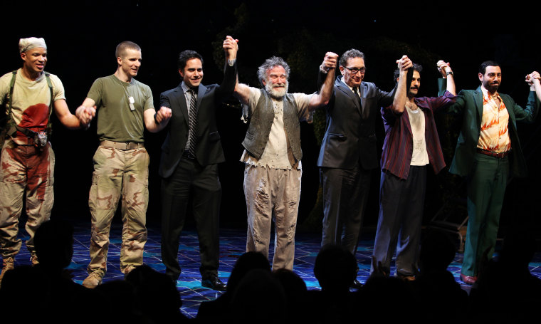 """USA - """"Bengal Tiger at the Baghdad Zoo"""" Curtain Call in New York City"""