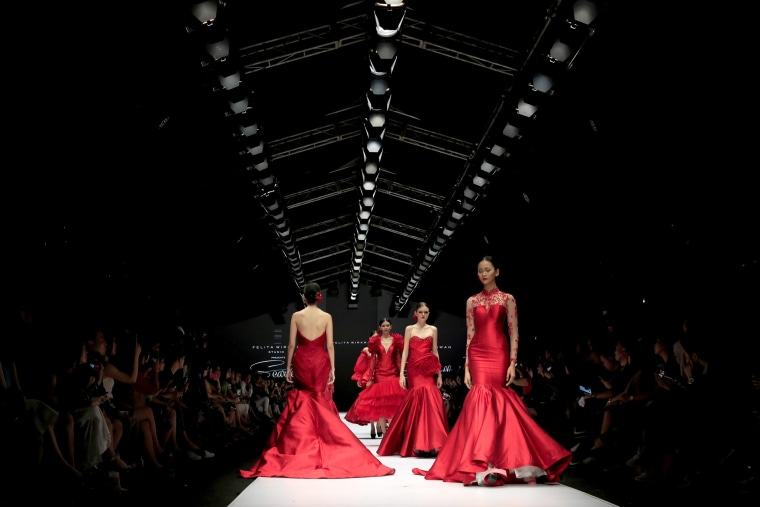 Image: Felita - Runway - Jakarta Fashion Week 2017