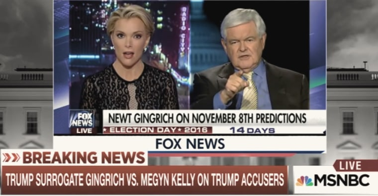 IMAGE: Megyn Kelly and Newt Gingrich
