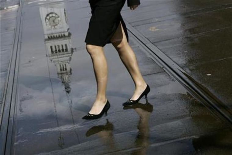 US women opt for help at home over office-poll