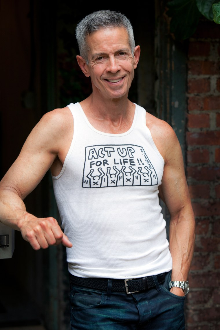 Image: AIDS activist Peter Staley in 2014