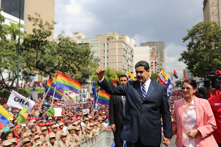 Image: VENEZUELA-CRISIS-MADURO