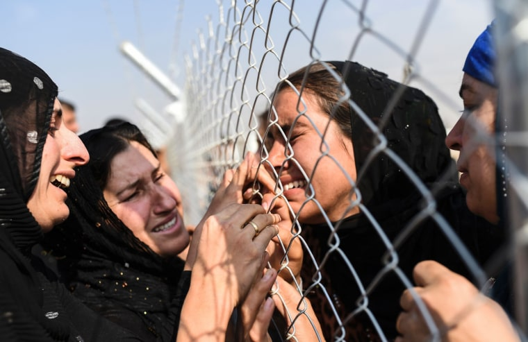 Image: IRAQ-CONFLICT-MOSUL-DISPLACED