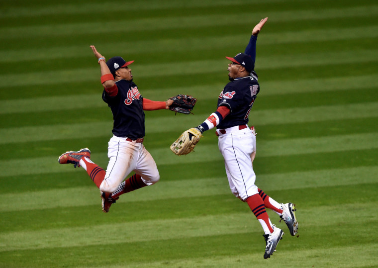 Image: MLB: World Series-Chicago Cubs at Cleveland Indians