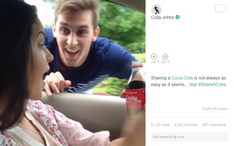Cody Johns Coke Vine