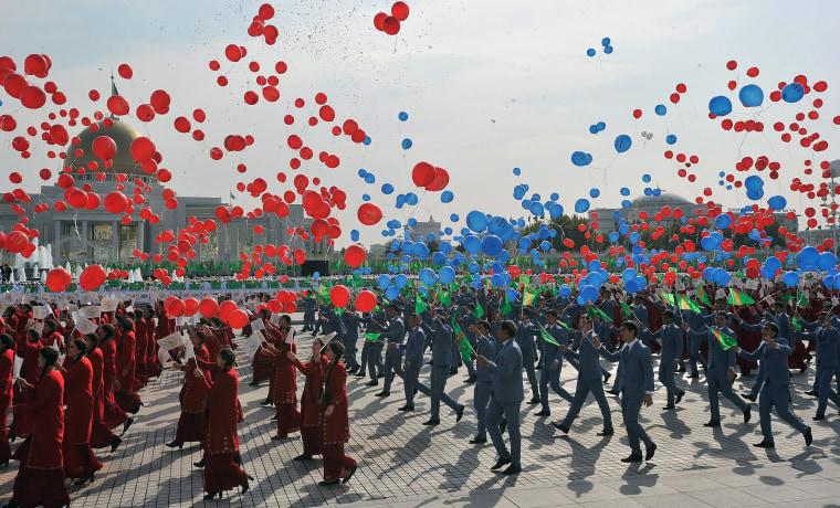 Image: TOPSHOT-TURKMENISTAN-POLITICS-HISTORY
