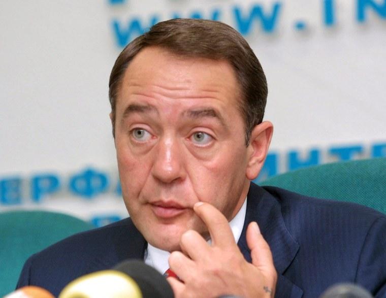Image: Mikhail Lesin accidental death