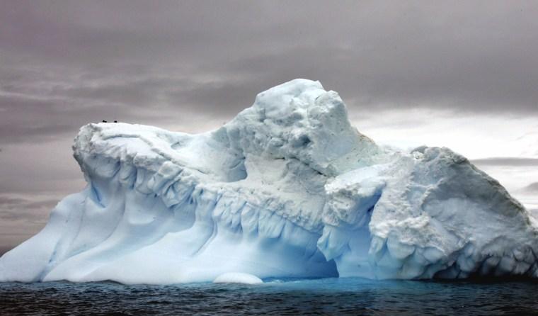 Image: Glaciers in Antartica