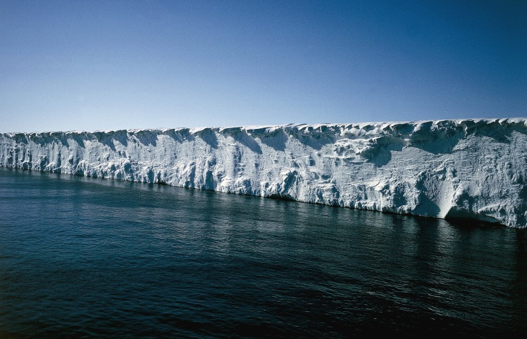 Image: Pack ice, Ross Sea, Antarctica