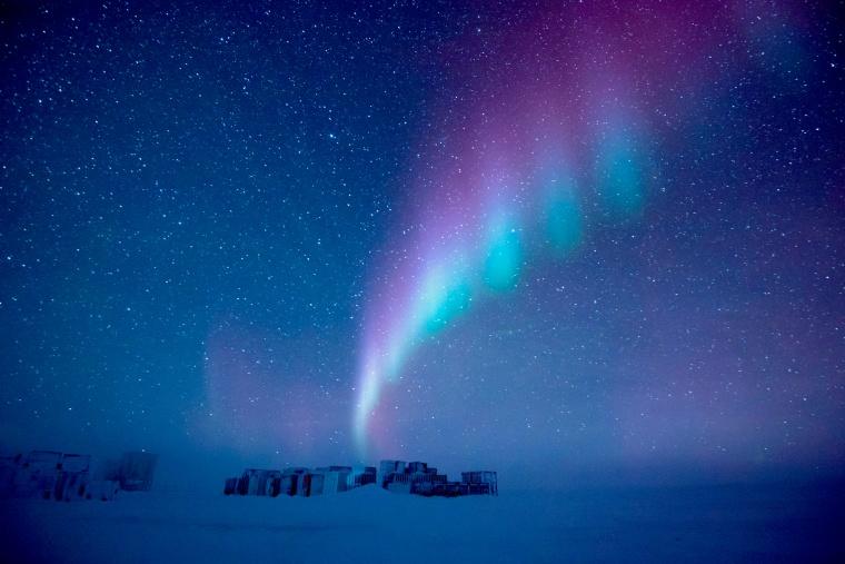 Image: The Concordia station in Antarctica