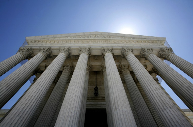 Image: File photo shows the U.S. Supreme Court building in Washington