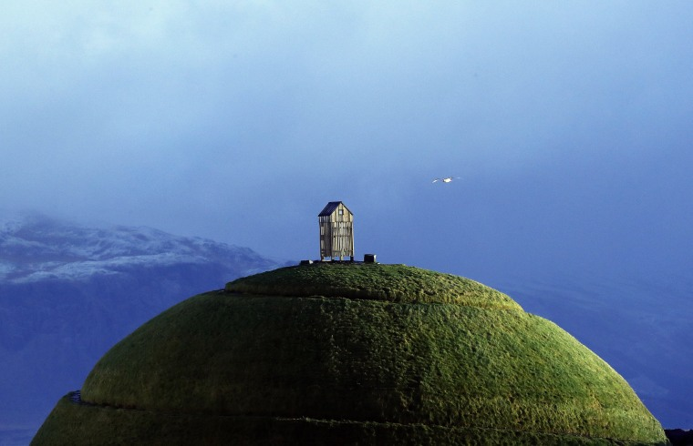 Image: The Thufa hill in Reykjavik