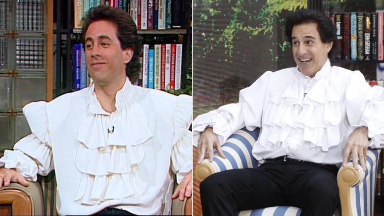 Matt Lauer as Seinfeld