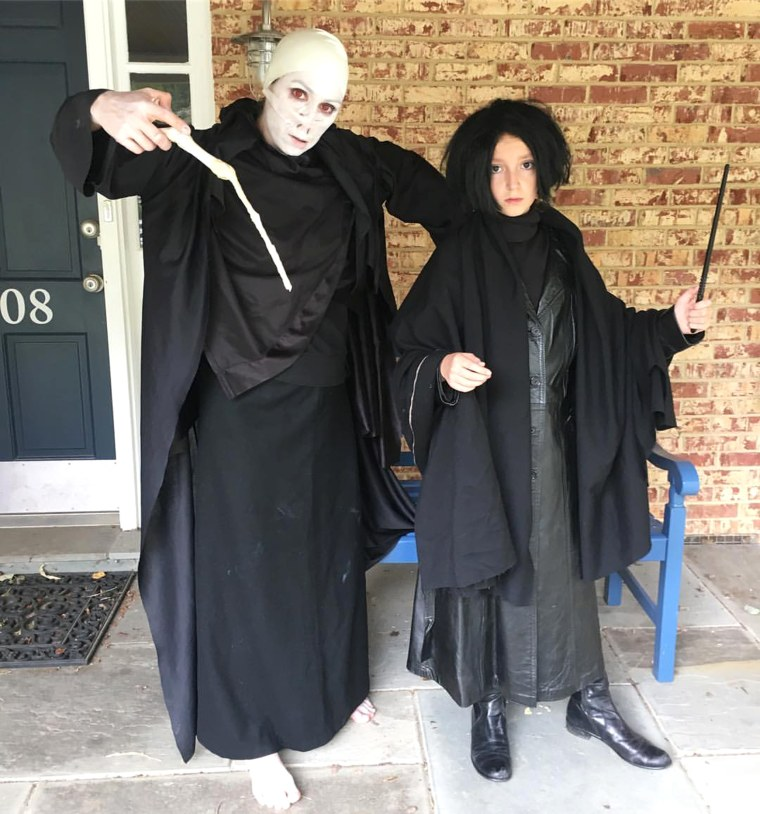 Costumes every day in October