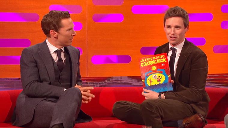 Eddie Redmayne and Benedict Cumberbatch Do Magic Tricks on The Graham Norton Show