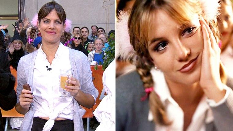 Siri Daly as Britney Spears