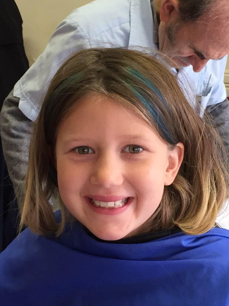 Charlie before her haircut!