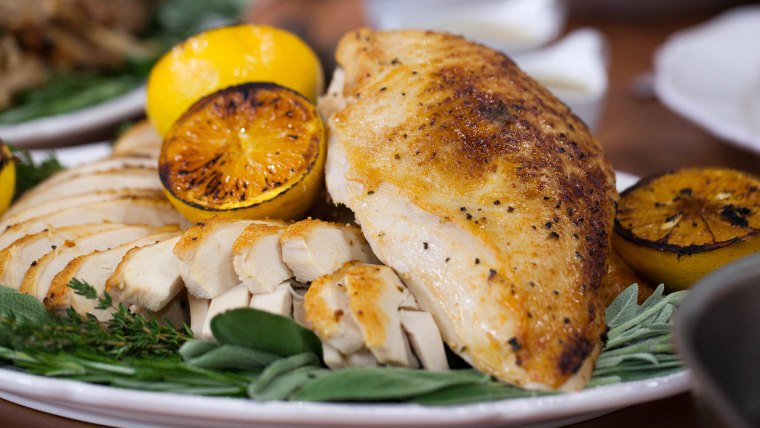 Sunny Citrus Turkey Breast with Confit Legs and Wings