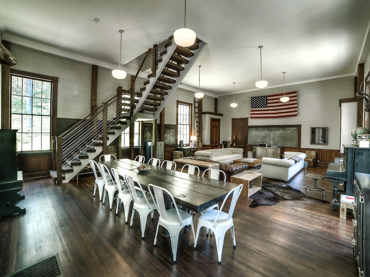 Old Schoolhouse Renovated Into A Home And Inn