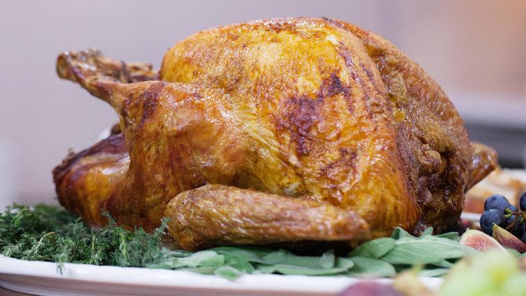 Martha Stewart's Upside-Down Turkey